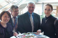 Встреча татар Германии с Президентом РТ Рустамом Миннихановым.