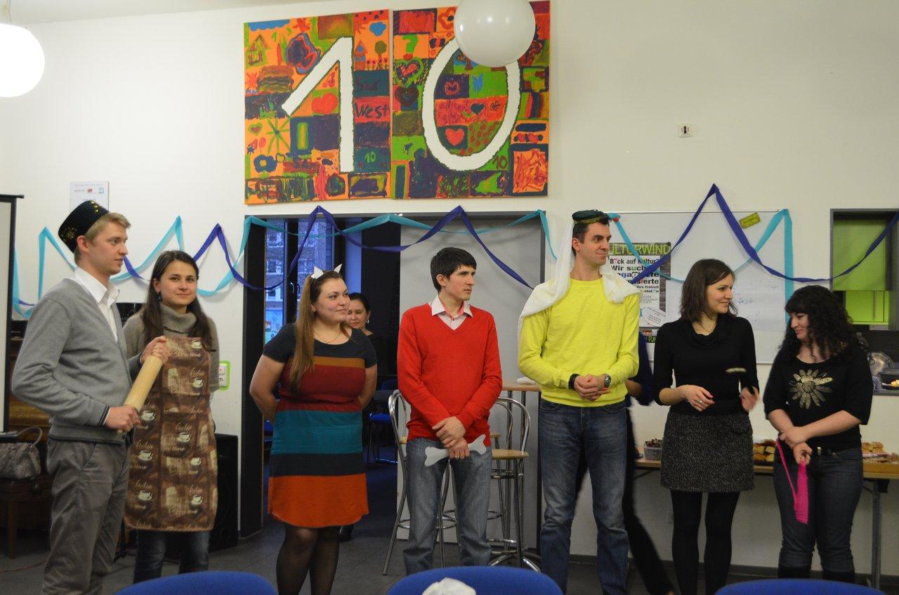 Встреча татарской молодёжи в Кёльне 2013